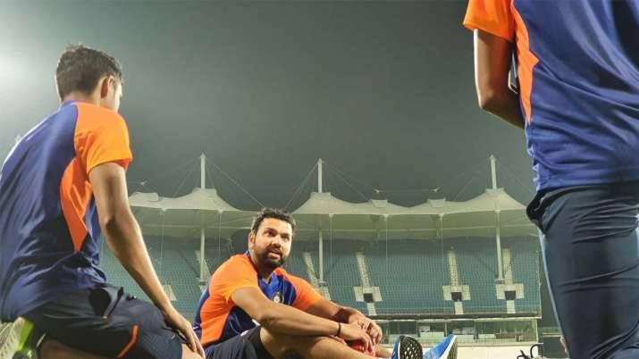 Team India at Chepauk