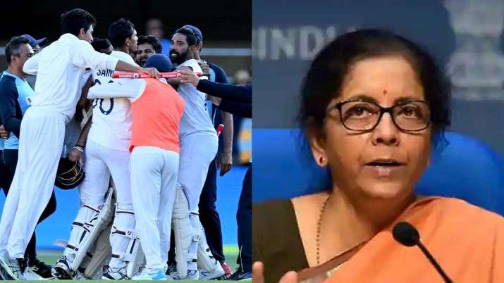 FM Nirmala Sitharaman recalled India's Test series win in