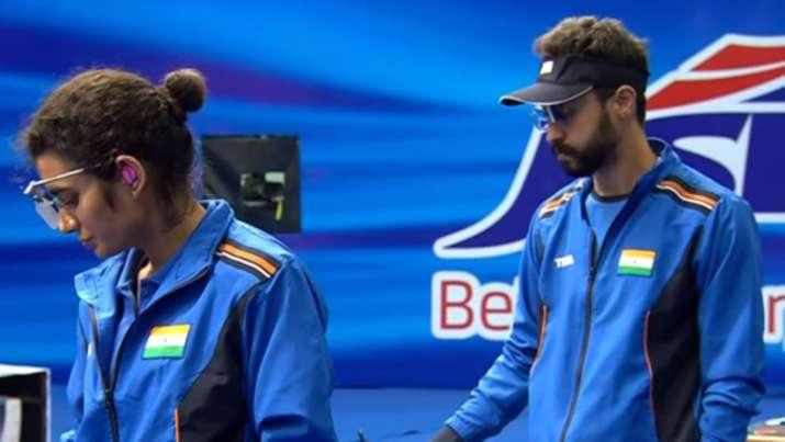 Yashawini Deswal, Abhishek Verma, issf world cup
