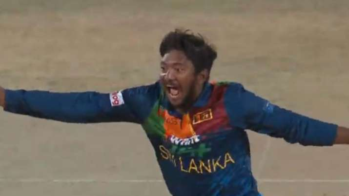 'Mad, mad game!': Sri Lanka's Akila Dananjaya takes hat-trick in second over; gets hit for six sixes