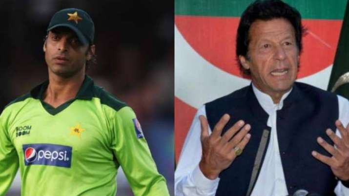 Shoaib Akhtar and Pakistan PM Imran Khan