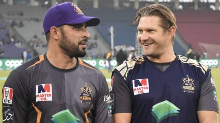 Fawad Ahmed and Shane Watson