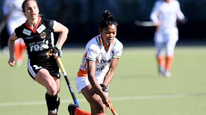Indian Women Hockey Team, India vs Germany