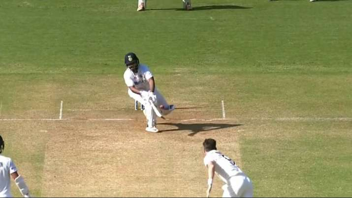 Rishabh Pant against James Anderson