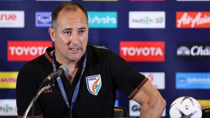 Indian football team coach, Igor Stimac, aiff