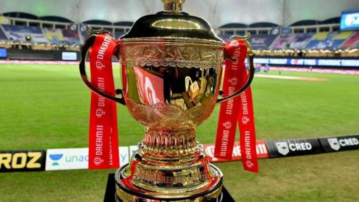 Indian Premier League (IPL) trophy