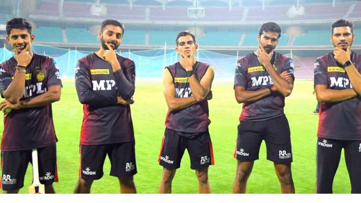 Five KKR layers begin training camp