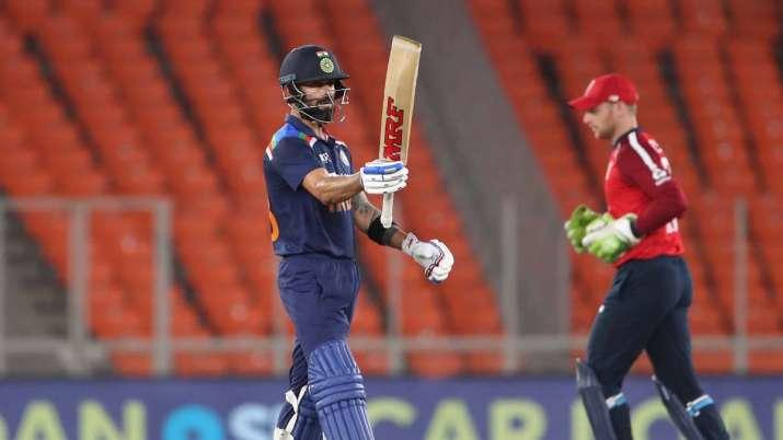 India vs England 3rd T20I Ahmedabad Virat Kohli