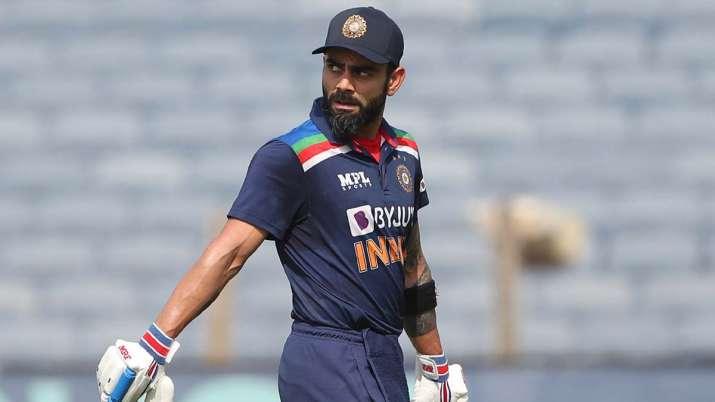 Virat Kohli after being dismissed for 55 in 2nd ODI against
