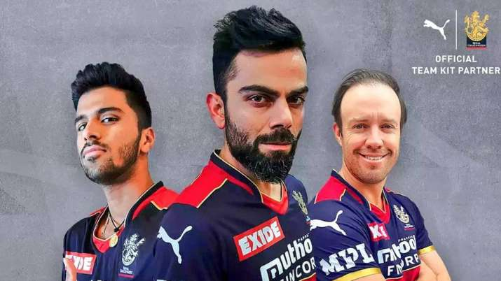 rcb new kit, ipl 2021, Washington Sundar, Virat Kohli, AB de Villiers