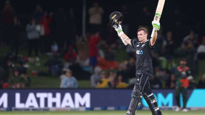 NZ vs BAN: Tom Latham's century steers New Zealand to five-wicket win; clinch series
