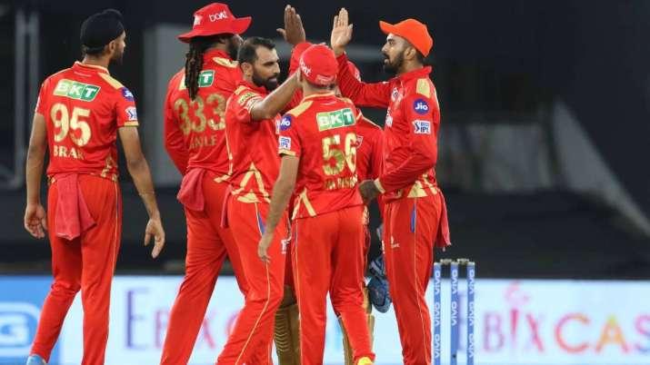 IPL 2021, Punjab Kings