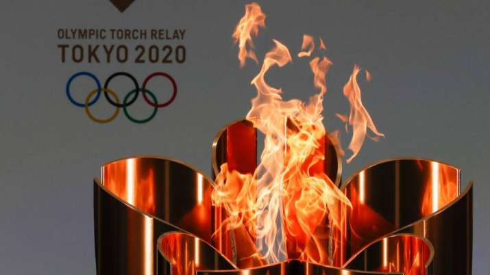 tokyo olympics torch