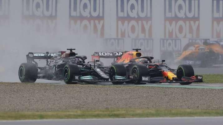 Lewis Hamilton, Max Verstappen, imola gp