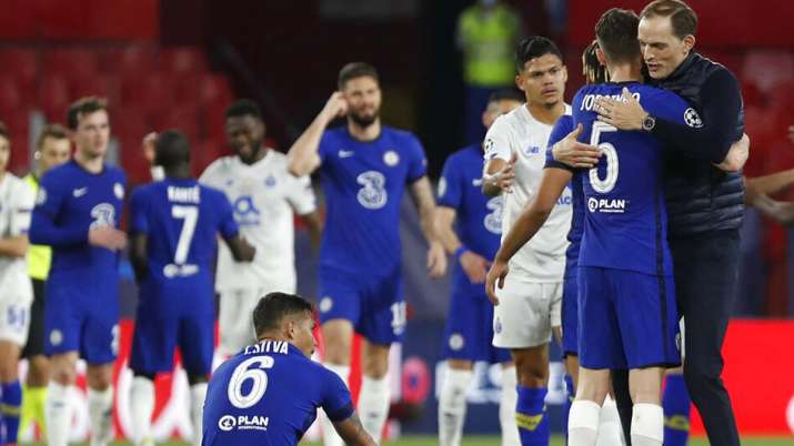 Chelsea qualified for the semifinals for the first time since 2014 despite a 1-0 loss to the Portugu