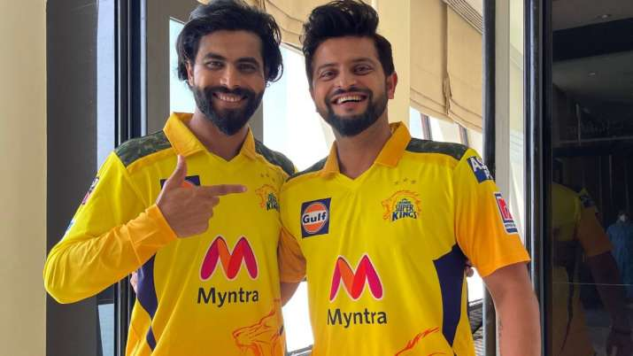 Suresh Raina and Ravindra Jadeja, IPL 2021, CSK