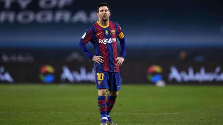 FC Barcelona's Lionel Messi, Messi, Super League