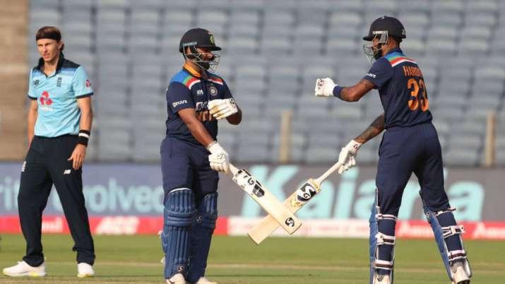 Rishabh Pant and Hardik Pandya, IND vs ENG, India vs England 3rd ODI