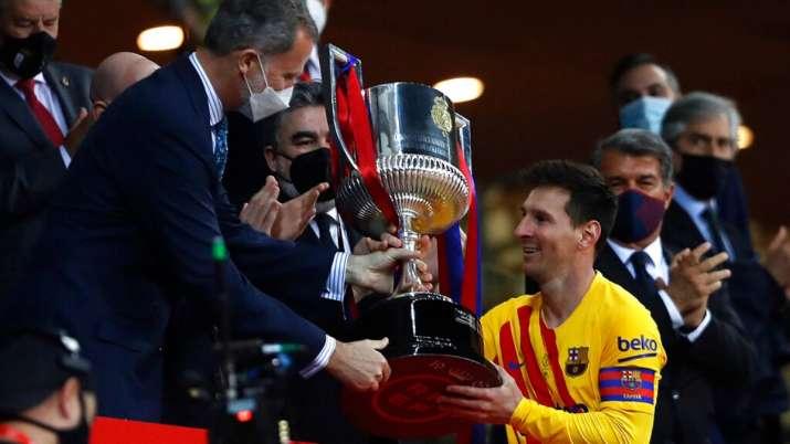 Copa del Rey: Lionel Messi nets 2 as Barcelona beat Bilbao 4-0 to win title