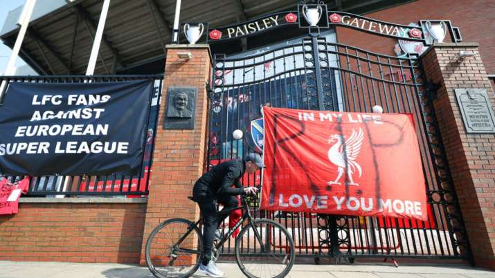 Liverpool owner leads Super League sorrow as fan anger grows