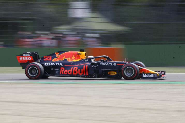 F1: Max Verstappen leads practice at Imola ahead of qualifying