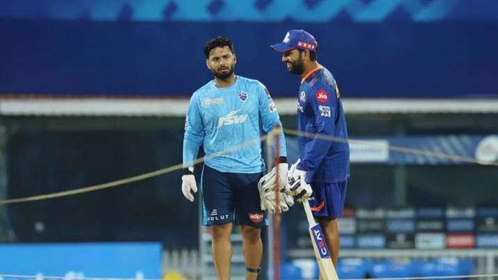 Rishabh Pant and Rohit Sharma