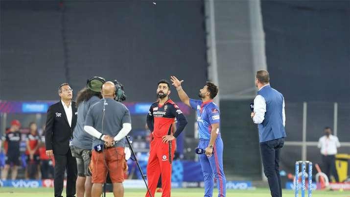 Delhi Capitals opt to bowl against RCB