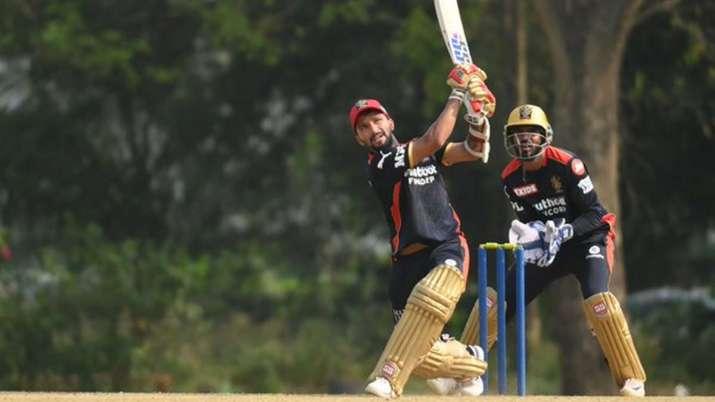 Rajat Patidar during the practice game