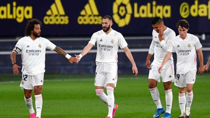 La Liga: Karim Benzema scores twice as Real Madrid beats Cádiz