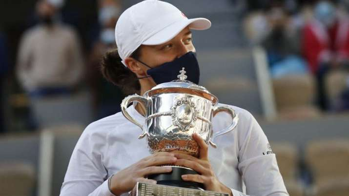 French Open 2020 winner Iga Swiatek