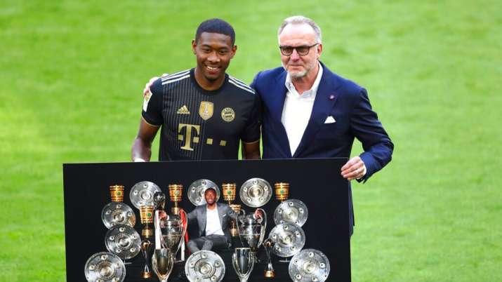 Defender David Alaba joins Real Madrid from Bayern Munich