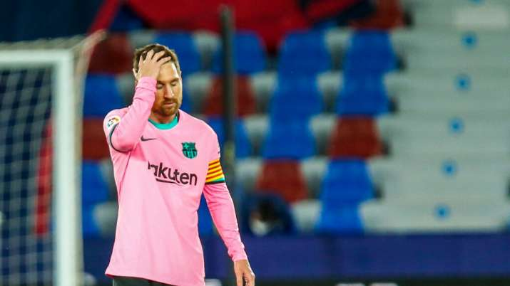 Barcelona missed yet another chance to reach the top after blowing a two-goal lead in a 3-3 draw at