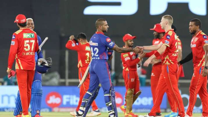 Delhi Capitals wins during match 29 of the Vivo Indian