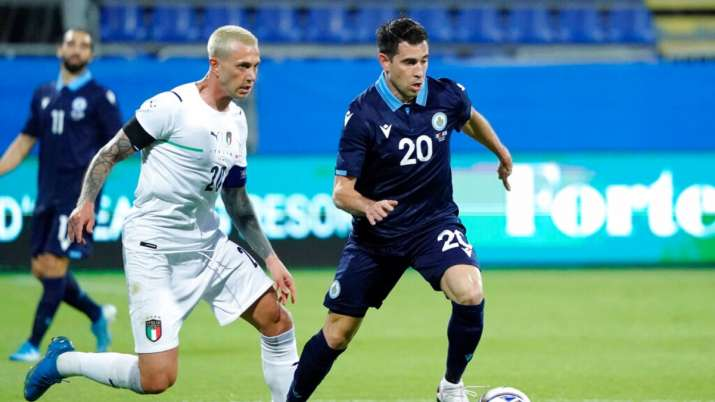 Italy warm up for Euros with 7-0 win over San Marino
