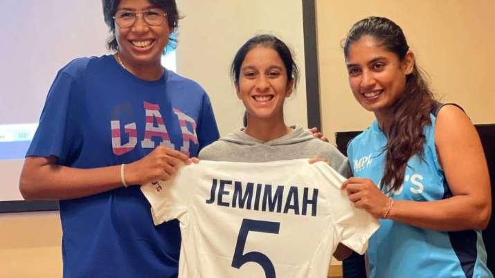 Jemimah Rodrigues, Jhulan Goswami, Mithali Raj