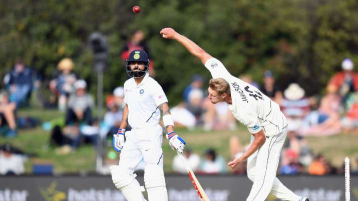 NZ pacer Kyle Jamieson gears up for Dukes ball after snubbing Virat Kohli in IPL 2021