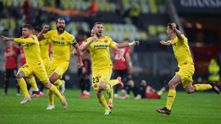 Europa League: Villarreal beat Manchester United in dramatic penalty shootout; lift maiden title