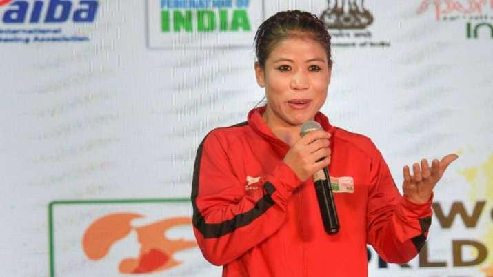 Six-time world champion MC Mary Kom