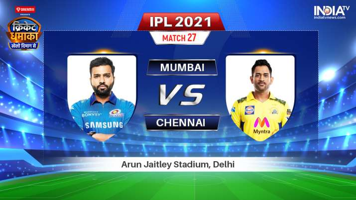 MI vs CSK Dream11 Prediction: Mumbai Indians vs Chennai Super Kings IPL 2021 Fantasy Tips