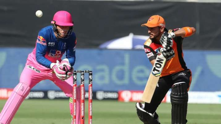In 13 encounters between both sides, Sunrisers Hyderabad have won 7 while six went in RR's favour.