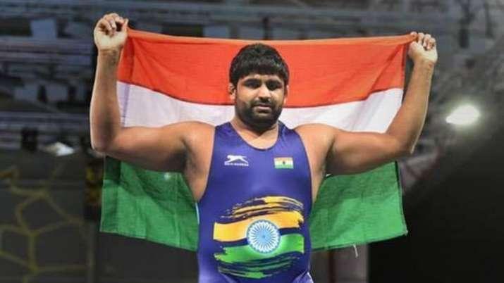 Sumit joined Ravi Dahiya (57kg), Bajrang Punia (65kg) and Deepak Punia (86kg) in India's men's free