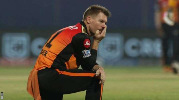 David Warner was removed from the captaincy during IPL 2021 and was also dropped from SRH's XI in th