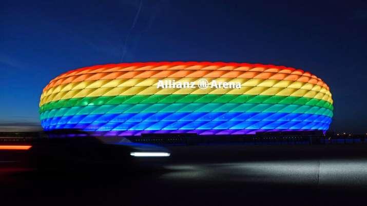 UEFA has no 'excuse' for blocking rainbow protest: EU