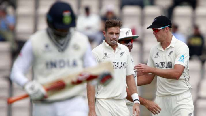 Indian tail's woes continue as Kiwis inch closer towards World Test Championship title