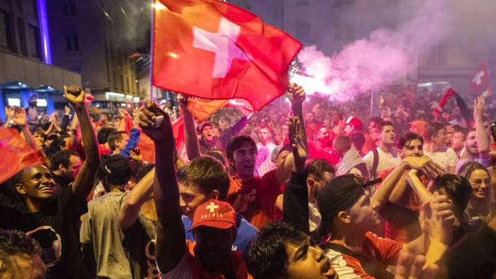 Euro 2020: Millions in Switzerland in party mood after historic win over France