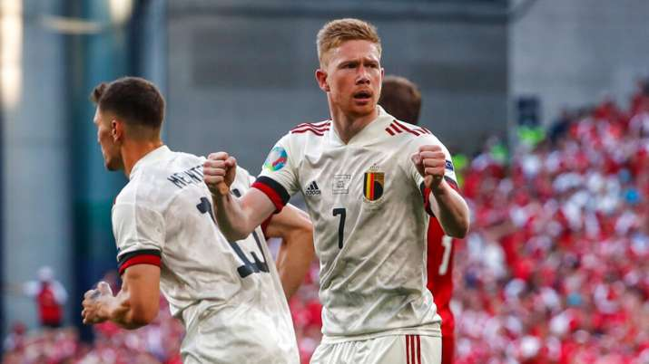 Euro 2020: Belgium beat Denmark 2-1 in game marked by Christian Eriksen tribute