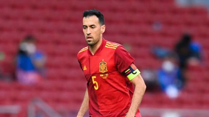 Spain hopes COVID infected Busquets, Llorente will be back for Euros