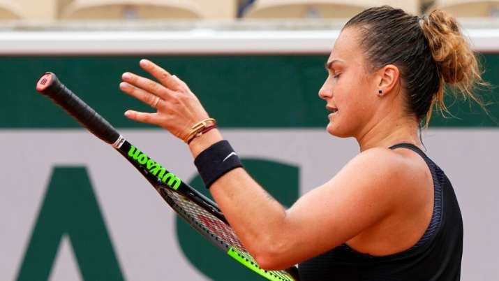 The women's side at Roland Garros is now without its top three seeds after Sabalenka lost 6-4, 2-6,