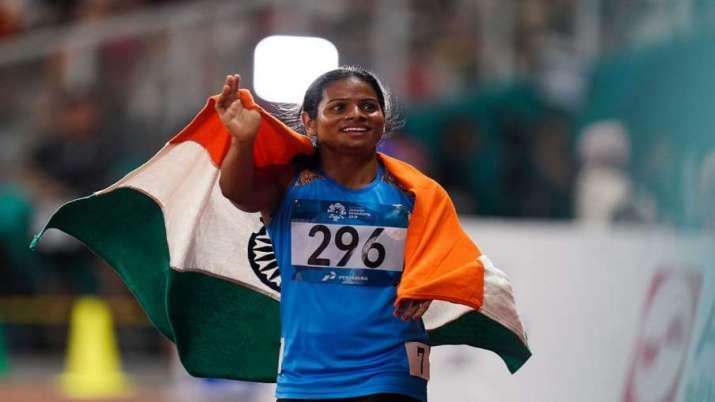 Star sprinter Dutee Chand