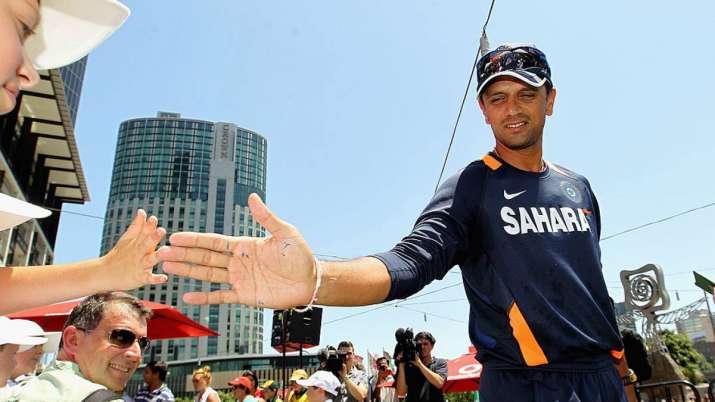 Former India skipper Rahul Dravid